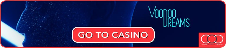 voodoo dreams casino online bonus